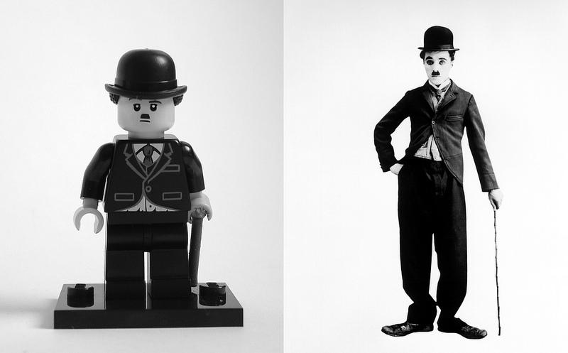 Charlie Chaplin in LEGO